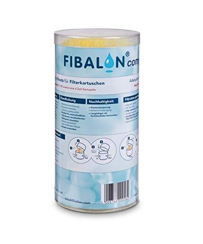 Whirlpool Filter/Kartuschen Filter FIBALON compact 50g - gelbe Filterbälle/Filterkartuschen für Pools und Whirlpools