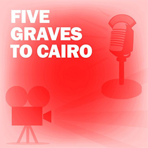 Five Graves to Cairo audiobook cover art