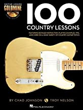 100 Country Lessons( Guitar Lesson Goldmine Series)[100 COUNTRY LESSONS GUITAR LES][Hardcover]
