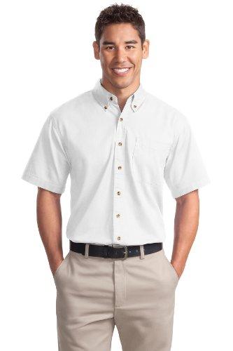 Port Authority Men's Short Sleeve Twill Shirt