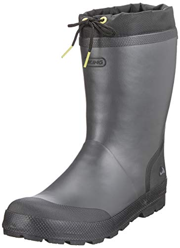 viking Slagbjorn Jr. Warm, Bottes & Bottines de Pluie Mixte Adulte, Gris (Dark Grey/Multi 9150), 41 EU