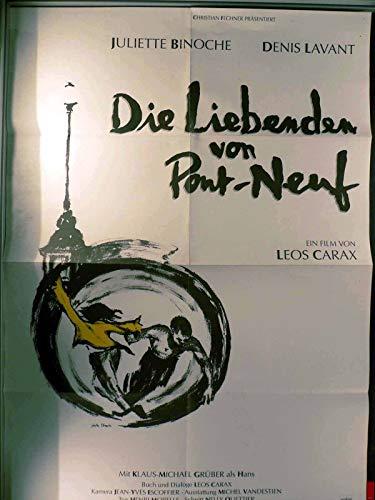 Die Liebenden von Pont-Neuf - Filmposter A1 84x60cm gefaltet (g)