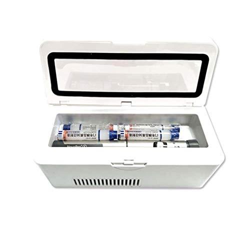 FZ FUTURE Tragbare Insulin Kühlbox für Medikamente Mini Intelligente Elektrische Kühlschrank Kühltasche Thermostat unter 25 ° C USB Ladekabel für Reise&Haushalt