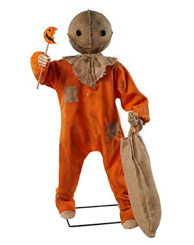 Spirit Halloween 4.3 Ft Trick 'r Treat Sam Animatronic