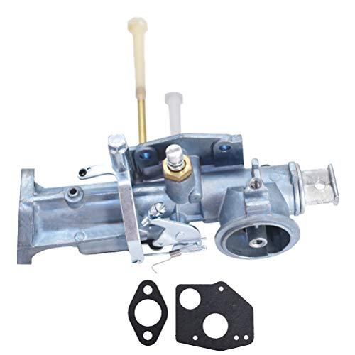 Carburetor with Gaskets Replacement for Briggs & Stratton 299437 Carburetor Replaces 297599 Engine Series 135200 130200 100200