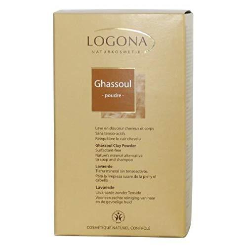Logona - Ghassoul En Poudre Carton 1Kg - Vendu Par Unité