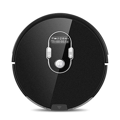 ALYHYB W Robot Cleaner Vacuum Smart APP Remote Control for Hard Floor and Thin Carpet Automatic Recharge Slim Body huangcui