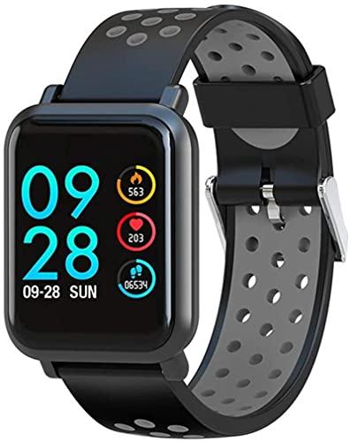 2.5D Pantalla Gorilla Vidrio Sangre Oxígeno Presión arterial Brim IP68 Actividad impermeable Rastreador Smart Watch