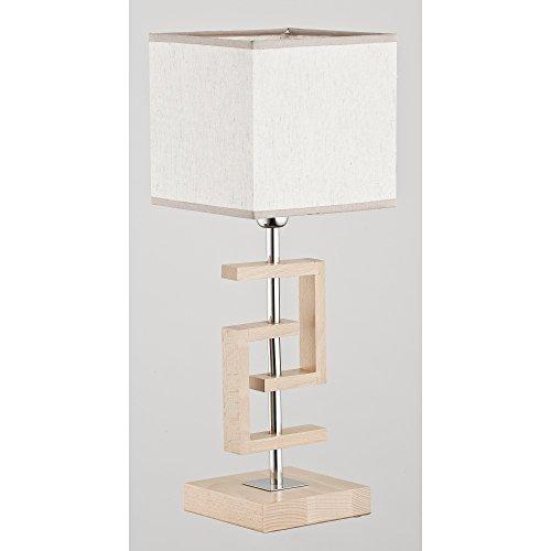 ALFA Coyote 1 Lampe de Chevet Lampe à Poser Luminaire Lampe de Table lumière Interieur