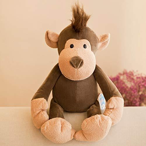 Creative Knuffel Simulatie Dierenpop Jungle Dierenpop Kinderen Geschenk 25cm (0.1kg) aap