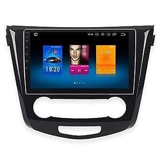 Dasaita-102-Android-80-1-Din-Autoradio-Bluetooth-Freisprecheinrichtung-fuer-Nissan-X-Trail-Qashqai-Rouge-2014-zu-2017-autoradio-mit-navi-Unterstuetzung-WiFi-DAB-Carplay-Rueckfahrkamera