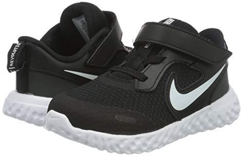 Nike Revolution 5 (TDV), Unisex Babies' Running Shoe, Black/White-Anthracite, 1.5 Child UK (17 EU)