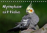 Nymphensittiche (Tischkalender 2022 DIN A5 quer): Freche Voegel (Monatskalender, 14 Seiten )