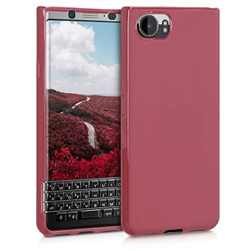 kwmobile BlackBerry KEYone (Key1) Hülle - Handyhülle für BlackBerry KEYone (Key1) - Handy Case in Kastanienrot