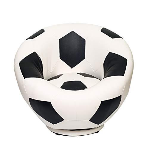 Personnalité Créatif Fauteuil, Américain Tourner Basketball Football Football Pour 4-12 Ans Garçon Fille (Color : Olive ball)