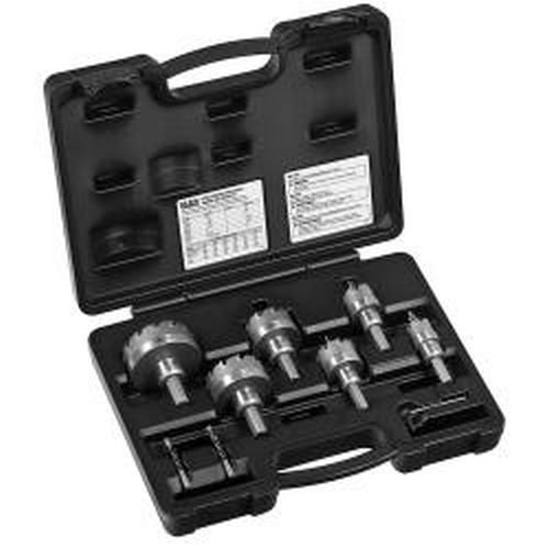 Klein Tools 31873 8-Piece Master Electrician's Hole Cutter Kit