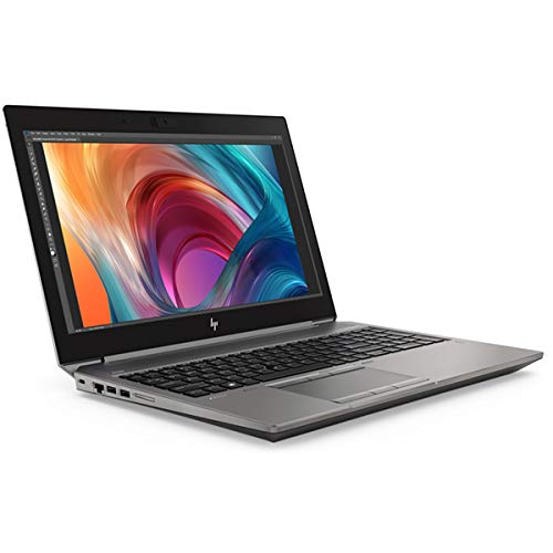 HP ZBook 15 G6 Mobile Workstation, Grey, Intel Core i7-9750H, 16GB RAM, 512GB SSD, 15.6' 1920x1080 FHD, 4GB NVIDIA Quadro T2000, HP 3 YR WTY + EuroPC Warranty Assist, (Renewed)