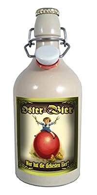 Oster Bier - 0,5 Liter Tonflasche mit Bügelverschluss