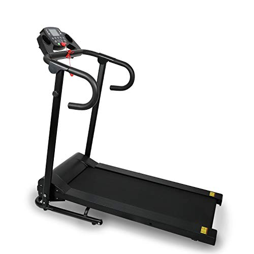 Affordable Small Folding Treadmill 1100W Treadmill with LCD Display Pad Home Ship from USA