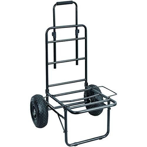 CAPTURE Carro de pesca para el aire libre Baroudeur SP2, carretilla de lujo para transportar objetos y equipo de pesca.