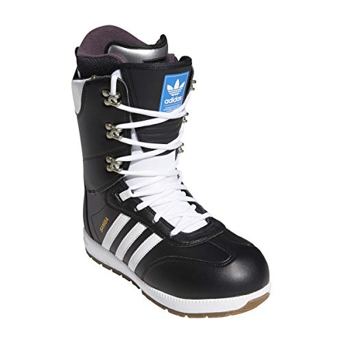 Adidas Samba ADV snowboardschoenen Core Black/Cloud White/Gold Metallic