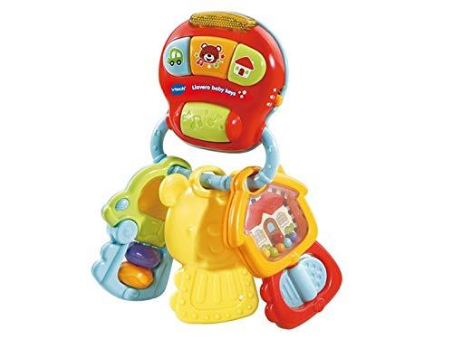 VTech- Llavero Baby Keys Sonajero electrónico interactivo con voz y luces (3480-505122) , color/modelo surtido