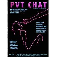 Suuyar Pvt Chat2021映画のポスターとプリント壁アートプリントキャンバスにリビングルームホームベッドルーム装飾カフェバー-20X28インチX1フレームレス