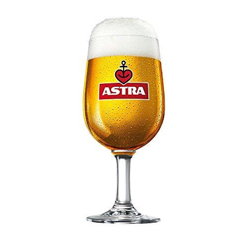 ASTRA Bier POKALE/TULPEN/EIFORM GLÄSER-Set (6 Stück) (0,4)