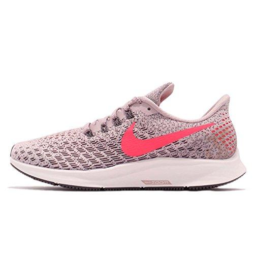 Nike Damen Laufschuh Air Zoom Pegasus 35 Sneakers, Mehrfarbig (Particle Rose/Flash Crimson/Thunder Grey 001), 41 EU