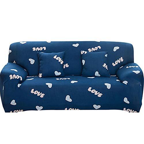 Fodera per divano elastico per soggiorno Fodera per divano elasticizzata antiscivolo Fodera per divano componibile Fodera per poltrona ad angolo a forma di L 1/2/3/4 posti-2_3 posti 190-230 cm