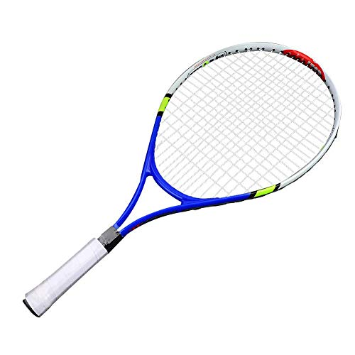 TOPINCN Raqueta de Tenis Super Ligera Raqueta de Entrenamiento de Tenis Junior para Niños Comienzo Entrenamiento Práctica - 1 Bolsa de Transporte Incluida, azul