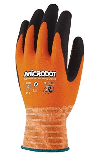 3L Wx-666 T-10 - Guante Nylon Ni.Foam Microdot Wx666 T10