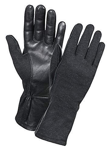Rothco Nomex Flight Gloves Black Size 8