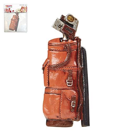 CREATIV DISCOUNT Mini Golfbag rot, ca.8,5cm, 1 Stück