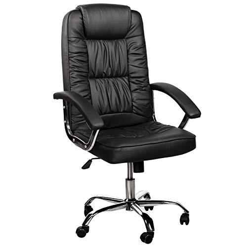 Trisens Bürostuhl Gamingstuhl Racing Chair Chefsessel mit Wippfunktion