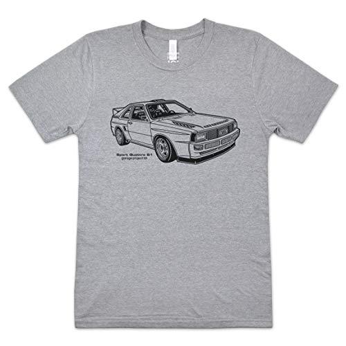 GarageProject101 Sport Quattro S1 T-Shirt XL Athletic Gray