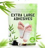 POSITIVA Premium Foot Pads - All Natural Bamboo Vinegar Detox Foot Pads -...