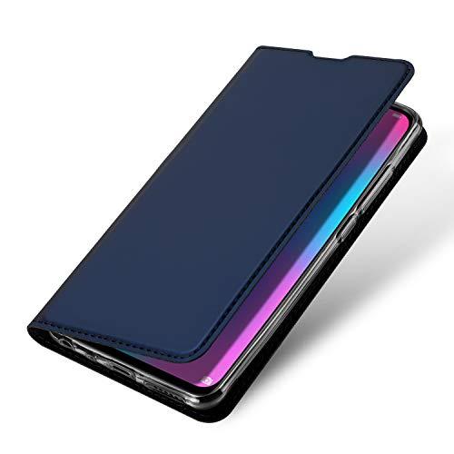 DUX DUCIS Hülle für Honor 10 Lite, Leder Flip Handyhülle Schutzhülle Tasche Case mit [Kartenfach] [Standfunktion] [Magnetverschluss] für Huawei Honor 10 Lite (Blau) - 5