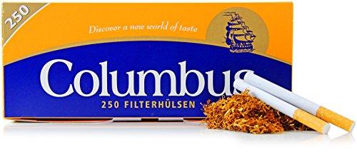 Columbus Zigarettenhülsen 250 Stück XL Pack