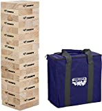 Triumph Large Tumble Tower - Includes 54 Wood Tumble Blocks and Carry Case