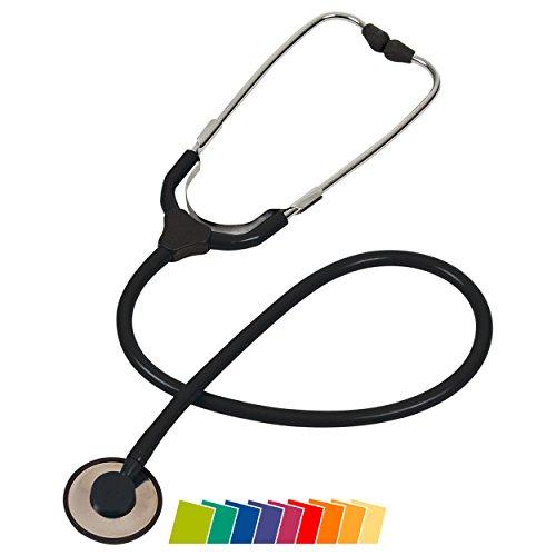 Sport-Tec Flackopf Stethoskop Colorscop Plano Stetoskopf für Schwester Arzt Rettungsdienst