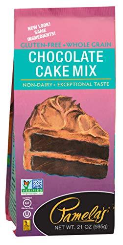 5 Savers Package:Pamela's Chocolate Cake Mix Gluten Free (6x21 Oz)