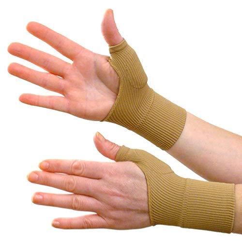2 Paar Gel-Daumenbandage mit Kompressionsbandage für Hand und Handgelenk, perfekte Unterstützung bei Arthritis, Gelenkschmerzen