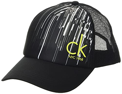Calvin Klein Unisex Cap-City Verschluss, Stadt Schwarz, One Size