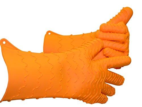 Charcoal Companion Max Heat-Resistant Silicone BBQ/Oven Glove – CC5157