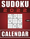 Sudoku Calendar for Expert 2022: 365 days Extreme sudoku puzzles with solutions, One puzzle per day on 365 days of the year 2022.