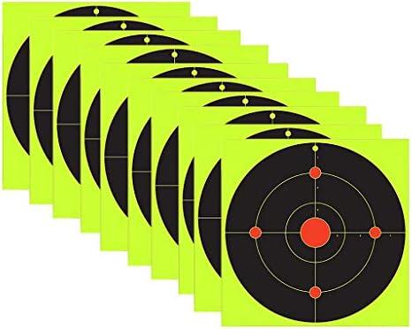 lahomia 100 Stuks Doelen Schieten Papieren Stickers Gun Shoot Sniper Scope Pasters