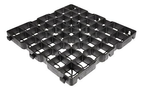 40LG 5m² Rasengitter Paddockplatten 50x50x4 cm Paddockplatte Rasengitterplatten