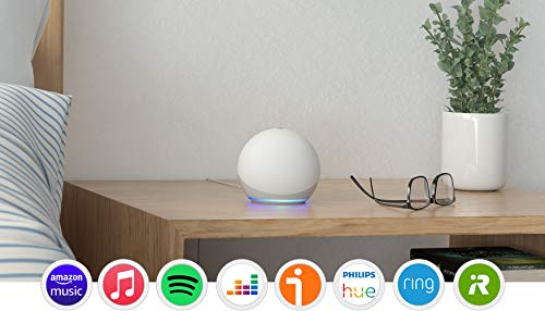 Nuevo Echo Dot (4.ª generación), Blanco + Amazon Smart Plug (enchufe inteligente WiFi), compatible con Alexa