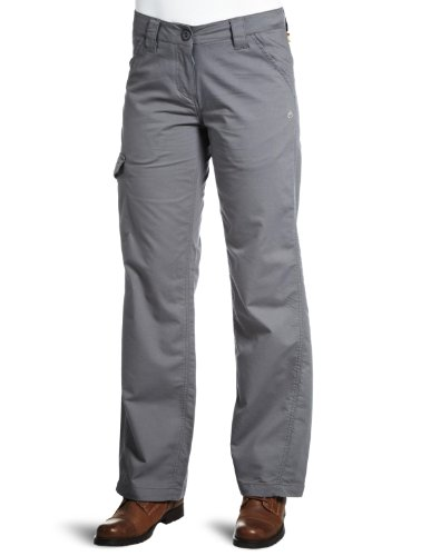 Craghoppers Duke of Edinburgh Ventura Pantalon pour Femme Argent Platine Short Leg - 14